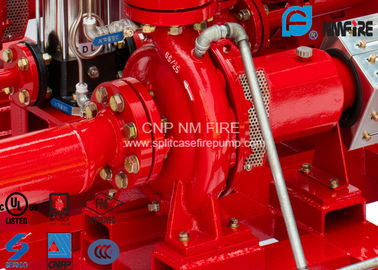High Efficiency Centrifugal Fire Pump 200 Usgpm@105PSI Ductile Cast Iron Materials