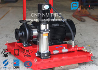3 M³/H Fire Fighting Jockey Pump Stainless Steel With 100-220PSI Head