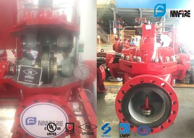 High Efficiency Centrifugal Fire Pump 2000GPM Capacity NFPA20 Certification