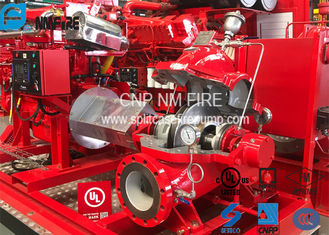 High Precision Centrifugal Fire Pump 358 Feet With 237.7kw Max Shaft Power