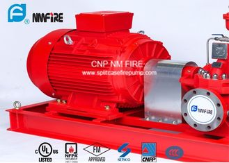1250GPM@12bar Electric Motor Driven Fire Pump With Air / Water Cooling Method